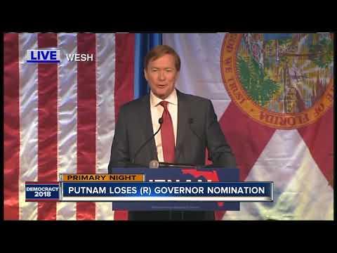 Adam Putnam concedes GOP nomination