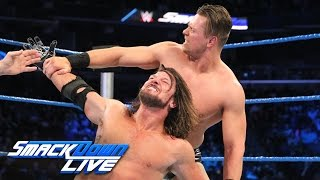 AJ Styles vs. The Miz: SmackDown LIVE, Jan. 17, 2017