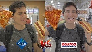 ¿Qué comida es mejor?  Sams vs Costco