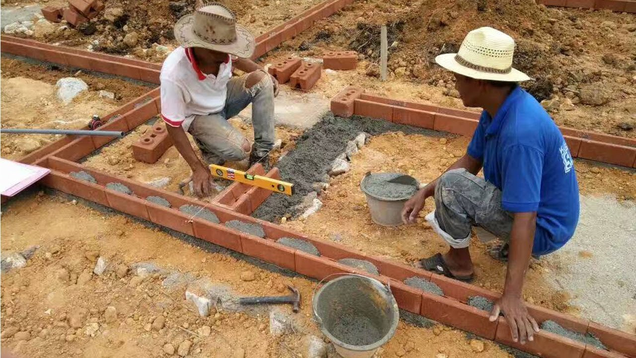How to build a house fast with interlocking bricks - Building a new home ...