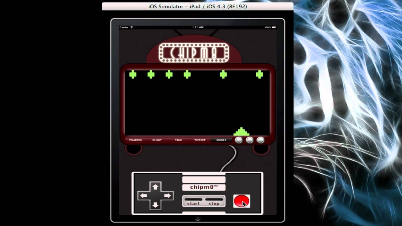 ChipM8 - A Retro Gaming App for the iPad