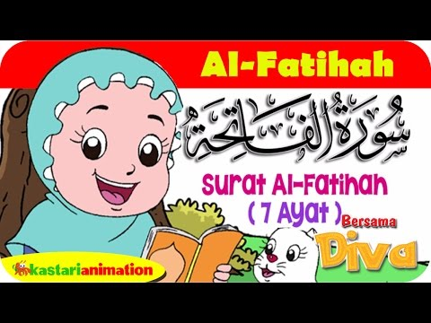 Qs Al Fatihah Mengaji Juz Amma Bersama Diva Kastari Animation Official