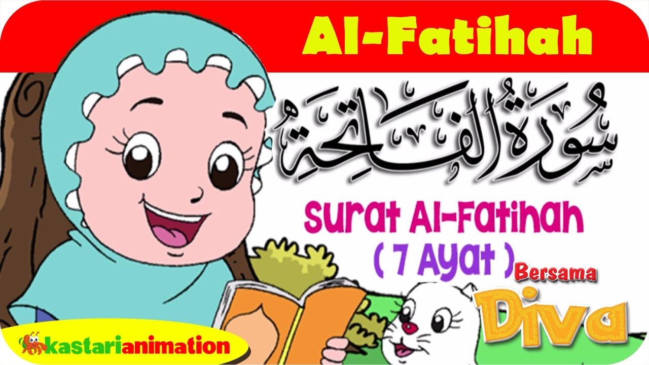 QS. AL FATIHAH | Mengaji Juz Amma bersama Diva | Kastari Animation Official