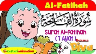 Gambar cover QS. AL FATIHAH | Mengaji Juz Amma bersama Diva | Kastari Animation Official