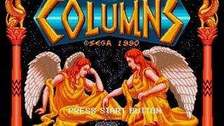 CGRundertow COLUMNS for Sega Genesis Video Game Review