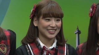 JKT48仲川遥香、インドネシア語でケンカも!4カ月で話せるように 「JKT48 Enjoy Jakarta 大使任命」記者会見(2)