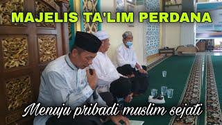 Beginilah Suasana Perdana Majelis Pengajian di Masjid Khalifah - SMPN 2 Kota Bengkulu