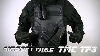 TMC TF3 BODY ARMOR / ARMOUR / VEST / AIRSOFT / COSPLAY Airsoft Mike 4.0