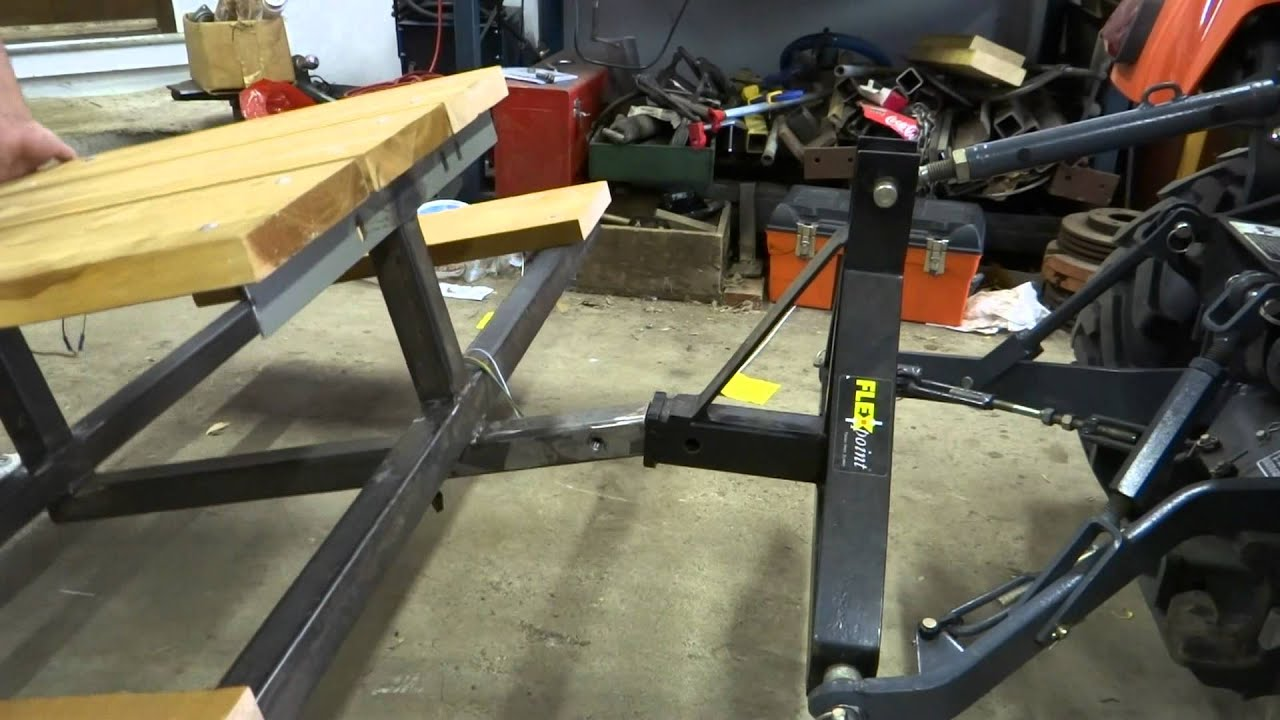 Building A Receiver Hitch Picnic Table YouTube - Picnic table trailer