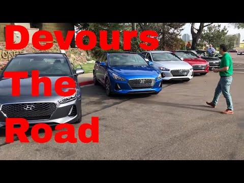 2018 Hyundai Elantra GT Sport On The Road