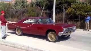 Impala 66 on air bags San Jose GTO Mexico
