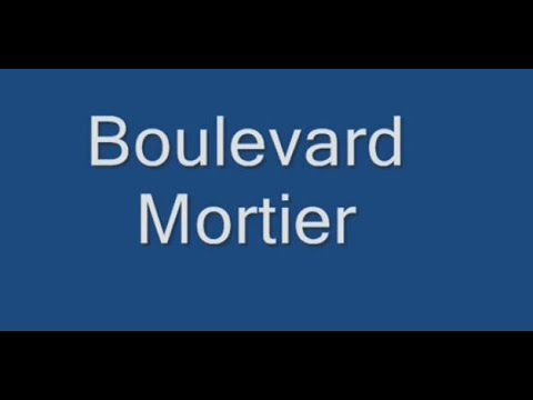 Boulevard Mortier   Paris Arrondissement  20e