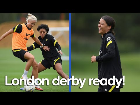 We are ready for the London Derby!  |  Chelsea women's training