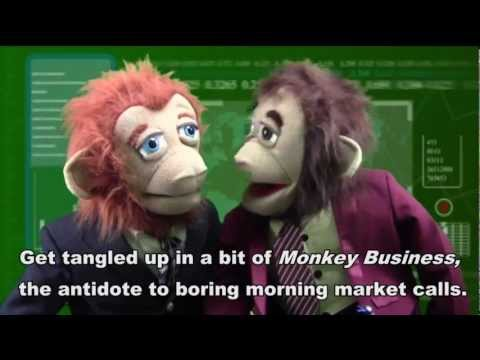 Promo: 'Monkey Business' - Series starts Jan. 2013   Puppet Series   Sketch Show   Financial News