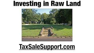 Land Investing through Tax Sales & OTC Lists TaxSaleSupport.com