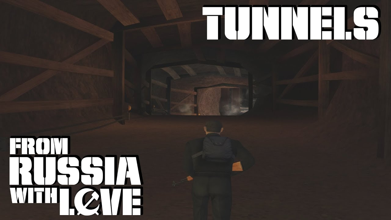 007 From Russia With Love Gcn Tunnels 00 Agent Bonus Level 1