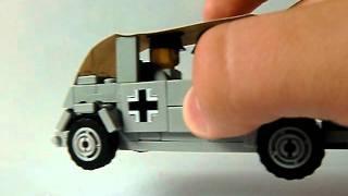 Lego ww2 review; Volkswagen Kübelwagen