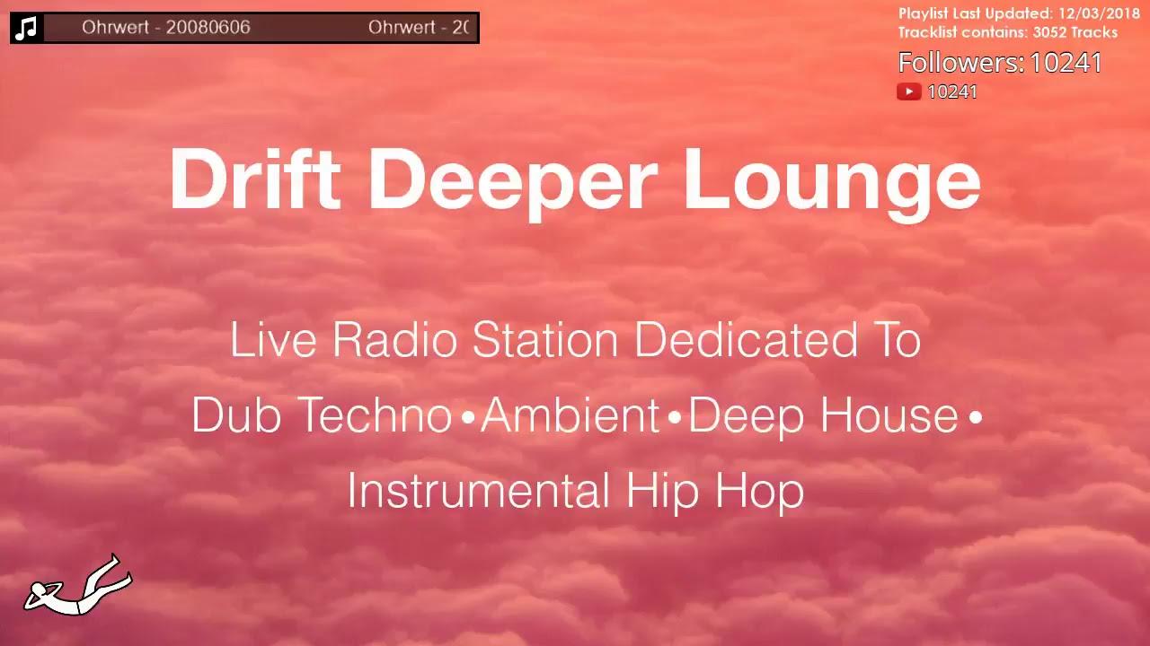 Drift Deeper Lounge Live 24/7 Stream // Dub Techno