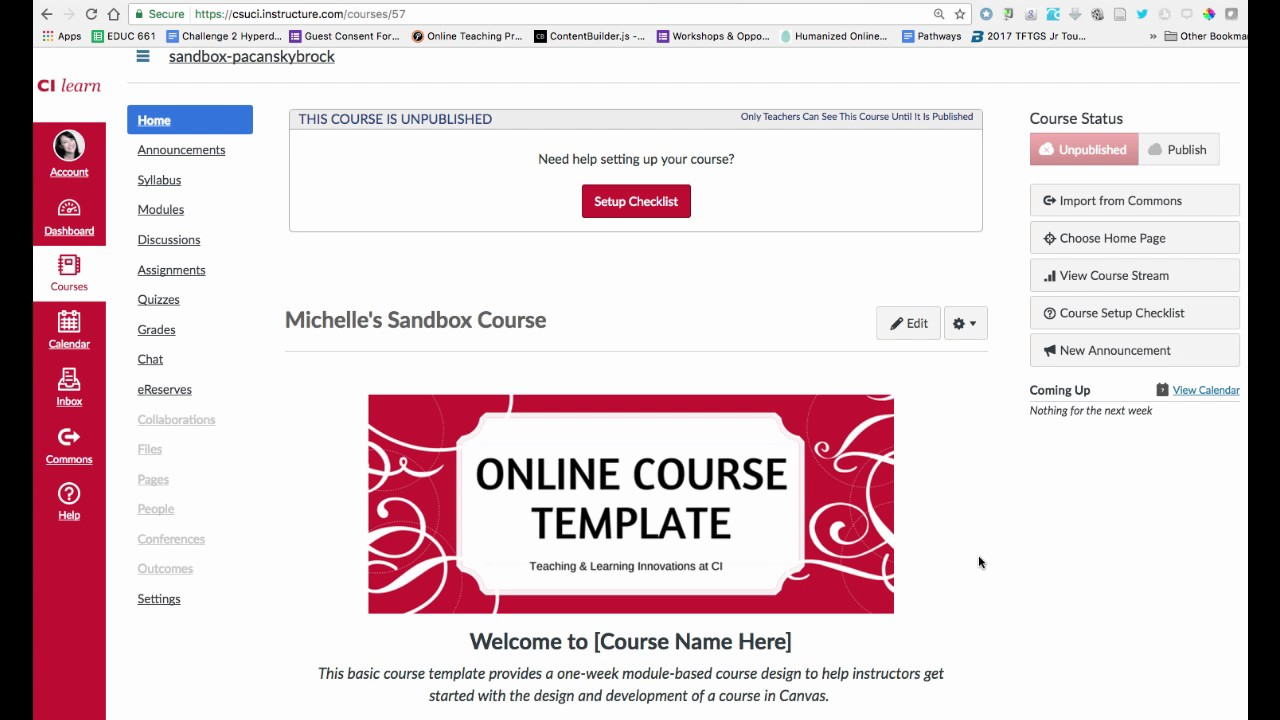 how to import online course template into canvas youtube. Black Bedroom Furniture Sets. Home Design Ideas