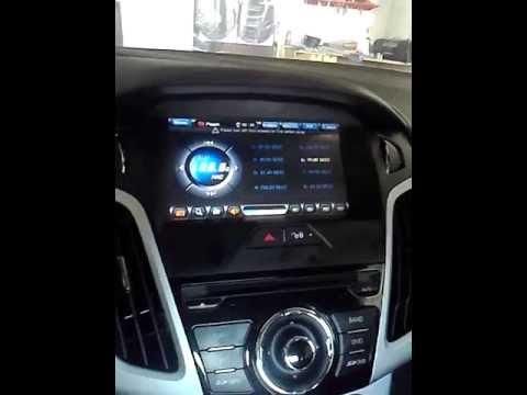 002. Демонтаж автомагнитолы Ford Focus 3 2012 - YouTube