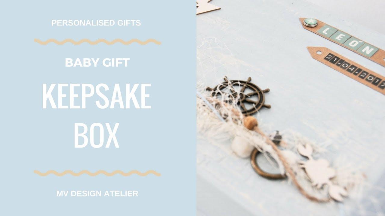 baby boy keepsake box best personalized newborn gifts baby shower