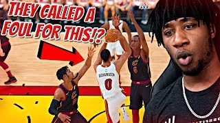 I CAN'T BELIEVE 2K DID THIS TO ME! GETTING FOULED OUT OF A PLAYOFF GAME! - NBA 2K19 MyCAREER R1G4