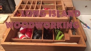 How to Make a Wooden Tackle Box - 22