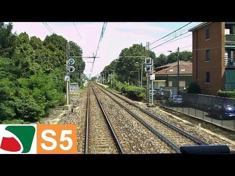 Cab Ride Varese - Treviglio dalla cabina del TSR | Parte 6 da Melzo a Treviglio