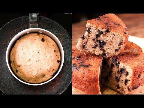 SAUCE PAN HEALTHY WHOLE WHEAT CAKE l BANANA CAKE l EGGLESS & WITHOUT OVEN