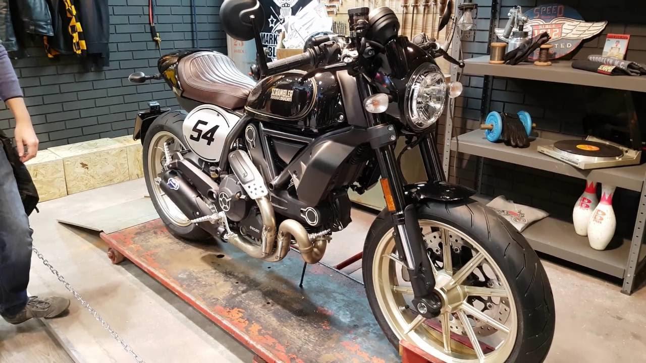 Ducati Scrambler Cafe Racer First Look In 4K