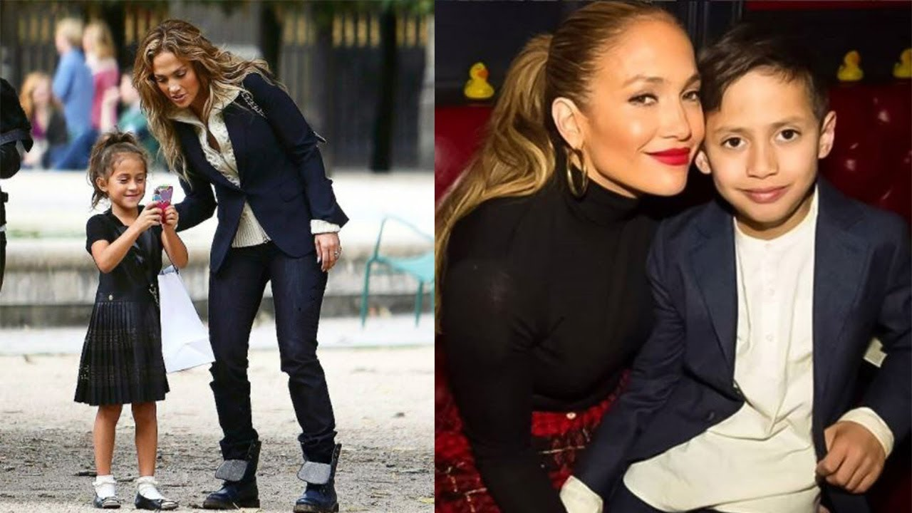 Jennifer Lopez's Kids - 2018 {Emme & Max} - YouTube