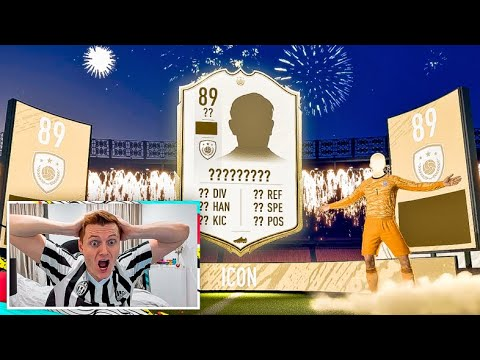 WHAT DOES SPENDING £100 ON PACKS GET YOU ON FIFA 20!!! ICON IN A PACK!