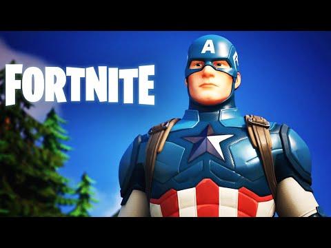 Fortnite - Official Captain America Teaser