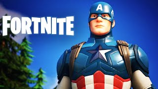 Fortnite - Official Captain America Teaser