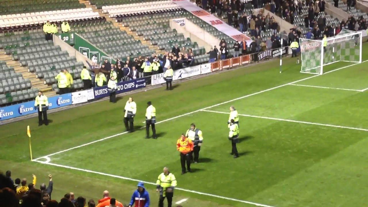 Plymouth Argyle Vs Millwall Trouble