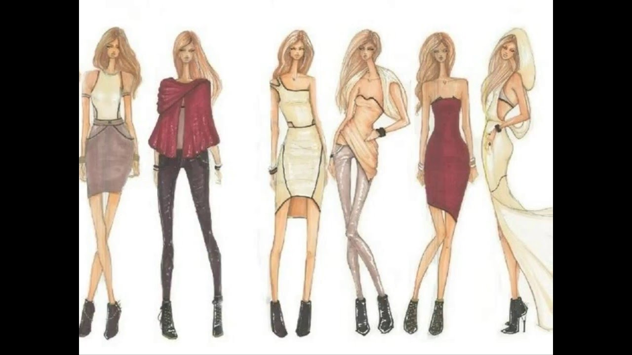 how to make fashion design ideas very easy fashion design video