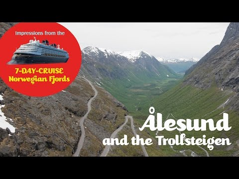 "3 - In Ålesund with the Disney Cruise Line ""Norwegian Fjords"" 2015"