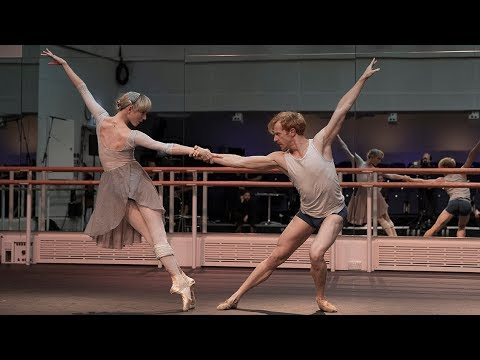Sarah Lamb and Steven McRae of The Royal Ballet rehearse Mayerling – World Ballet Day 2018