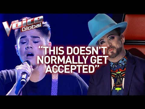 Flamboyant talent is every fashion stylists dream in The Voice! | Journey #32