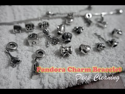 How I Clean My Pandora Charms And Bracelet (Tagalog/English)