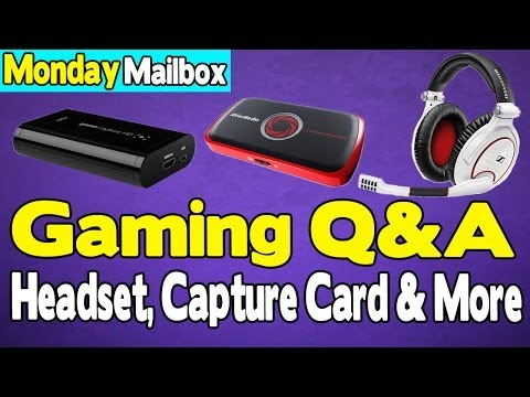 Gaming Q&A - Headset, Capture Card, Software I Use & More (Gaming Setup) [Youtube Tips]