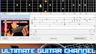 [Guitar Solo Tab] Love Is A Many Splendored Thing (The Four Aces)
