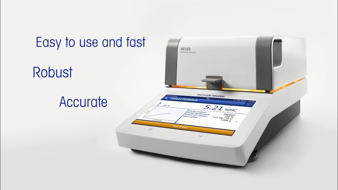 Moisture Content Determination Using A Drying Oven Or