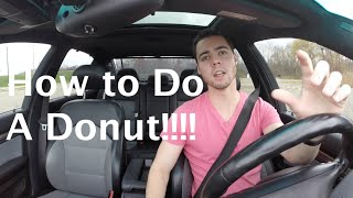 How To Do a Donut (Drift) in a Car