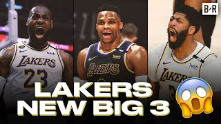 Russell Westbrook Trade Forms New Lakers Big Three With LeBron James \u0026 Anthony Davis