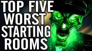 One of MrTLexify's most viewed videos: Top 5 Worst Starting Rooms/Starting Rooms in Call of Duty WaW/BO/Bo2 Zombies ~ OFFICIAL