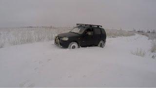 #9 Зимняя Ходовая Охота Курцхаар. Стая Куропаток Зимой. Шевроле Нива по Снегу