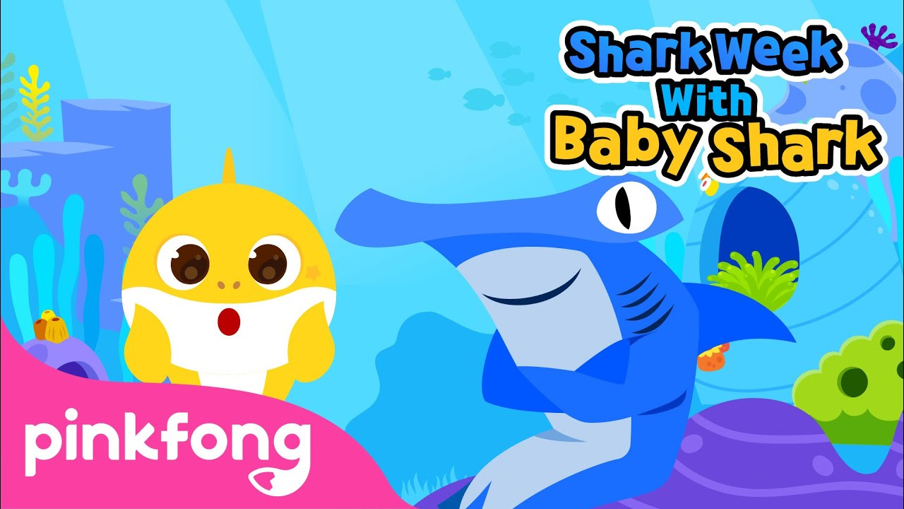 Meet the Shark Family | Shark Week with Baby Shark | Pinkfong Songs for Children