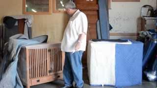 Barn Furniture - Amish Prairie Dog Kennel