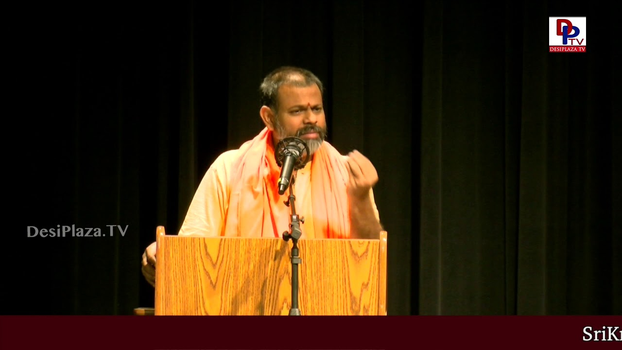 """That will happen infront of your eyes"" - Swami Paripoornananda Saraswathi in USA 